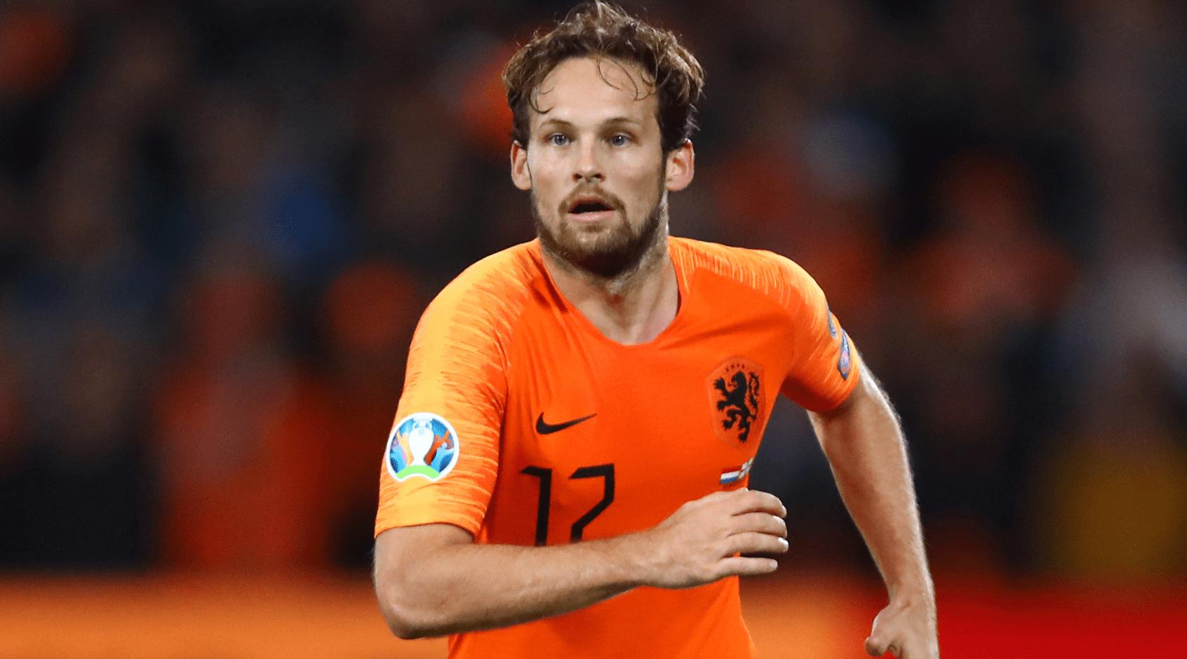 Дейли Блинд нидерландский футболист