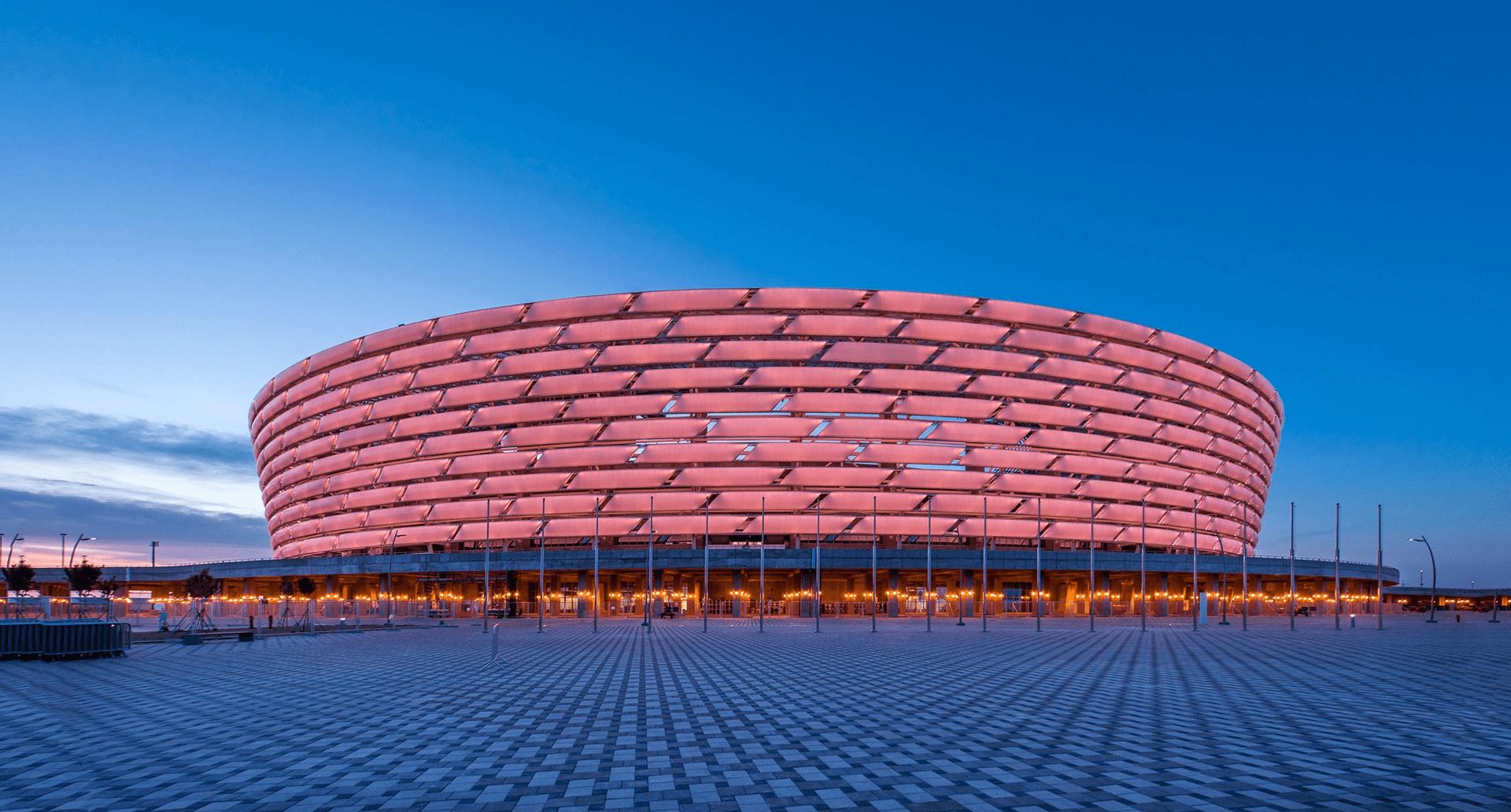 Стадион Олимпийский в Баку на 70 000 человек