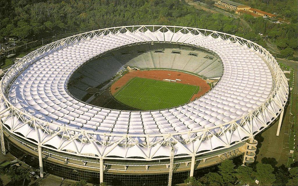 Стадион Олимпийский в Риме на 72 000 человек