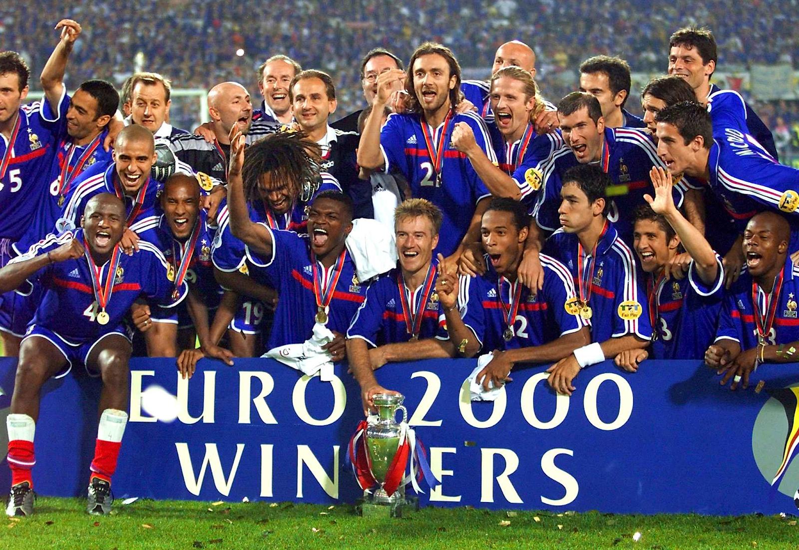 Франция на Евро-2000
