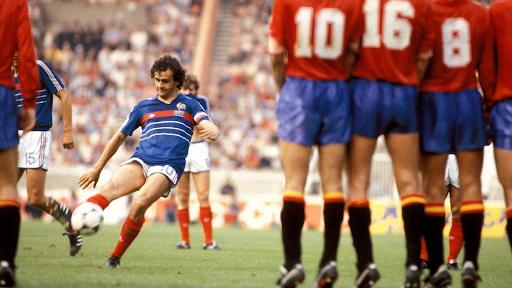 Мишель Платини на Евро-1984