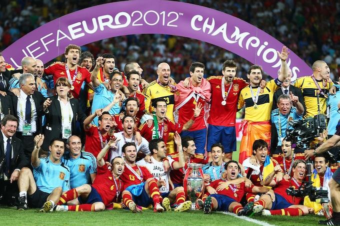 Сборная Испании на Евро-2012