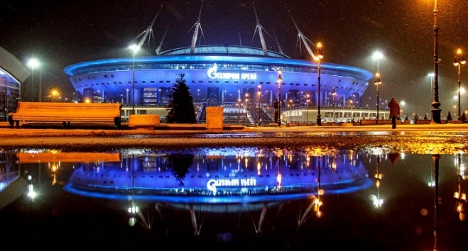 Какие матчи Евро примет Санкт-Петербург?