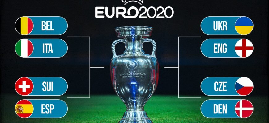 ¼ чемпионата Европы 2020: расписание, прогнозы, коэффициенты